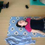 Занятие по аштанга-йоге в Одессе по руководством Ольги Шекир. Март 2004г. Фото первое