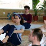 Занятие по аштанга-йоге в Одессе по руководством Ольги Шекир. Март 2004г. Фото четвертое