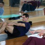 Занятие по аштанга-йоге в Одессе по руководством Ольги Шекир. Март 2004г. Фото пятое