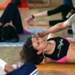 Занятие по аштанга-йоге в Одессе по руководством Ольги Шекир. Март 2004г. Фото седьмое