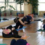 Занятие по аштанга-йоге в Одессе по руководством Ольги Шекир. Март 2004г. Фото одиннадцотое