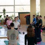 Занятие по аштанга-йоге в Одессе по руководством Ольги Шекир. Март 2004г. Фото вденадцатое