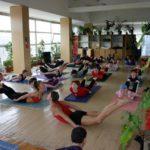 Занятие по аштанга-йоге в Одессе по руководством Андрея Внукова. Март 2004. Фото четвертое