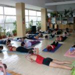 Занятие по аштанга-йоге в Одессе по руководством Андрея Внукова. Март 2004. Фото пятое