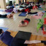 Занятие по аштанга-йоге в Одессе по руководством Андрея Внукова. Март 2004. Фото седьмое