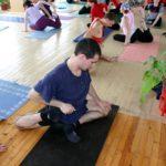 Занятие по аштанга-йоге в Одессе по руководством Андрея Внукова. Март 2004. Фото одинадцатое
