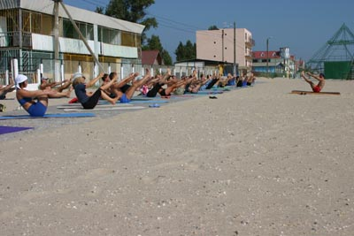 Йога в Одессе. Форум в Затоке. Сентябрь 2004. Фото пятнадцатое