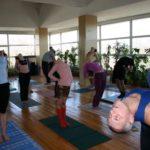 Занятие по аштанга-йоге в Одессе по руководством Ляшенко Генадия. Февраль 2004г. Фото одинадцатое