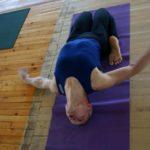 Занятие по аштанга-йоге в Одессе по руководством Ляшенко Генадия. Февраль 2004г. Фото второе