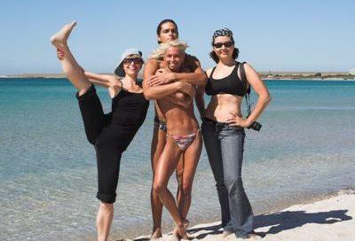 Йога в Крыму. Форум в Оленевке. Сентябрь 2006г. Фото первое