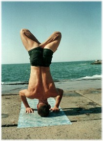 Йога в Одессе. Ярослав Саргюнас. 2000г. Фото первое