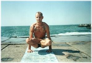 Йога в Одессе. Ярослав Саргюнас. 2000г. Фото третье