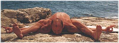 Йога в Крыму. Ярослав Саргюнас. 2001г. Фото четвертое