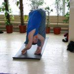 Занятие по аштанга-йоге в Одессе по руководством Александра Гортовлюка. Февраль 2004г. Фото одинадцатое
