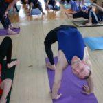 Занятие по аштанга-йоге в Одессе по руководством Александра Гортовлюка. Февраль 2004г. Фото второе