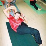 Занятие по аштанга-йоге в Одессе по руководством Виктории Никитюк. Март 2004. Фото 6
