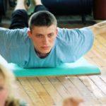 Занятие по аштанга-йоге в Одессе по руководством Виктории Никитюк. Март 2004. Фото 10