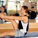 Занятие по аштанга-йоге в Одессе. 11 Апреля 2004. Фото десятое